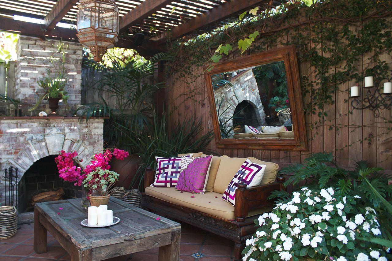 John Coulter's backyard