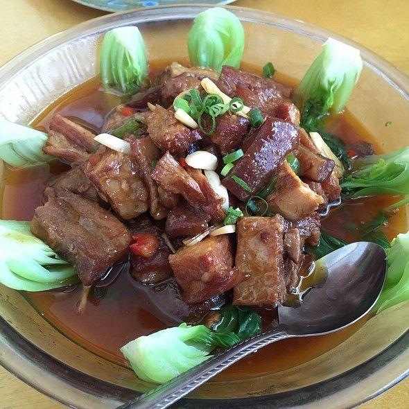 hunan cuisine  szechuan lamb and kung pao chicken from