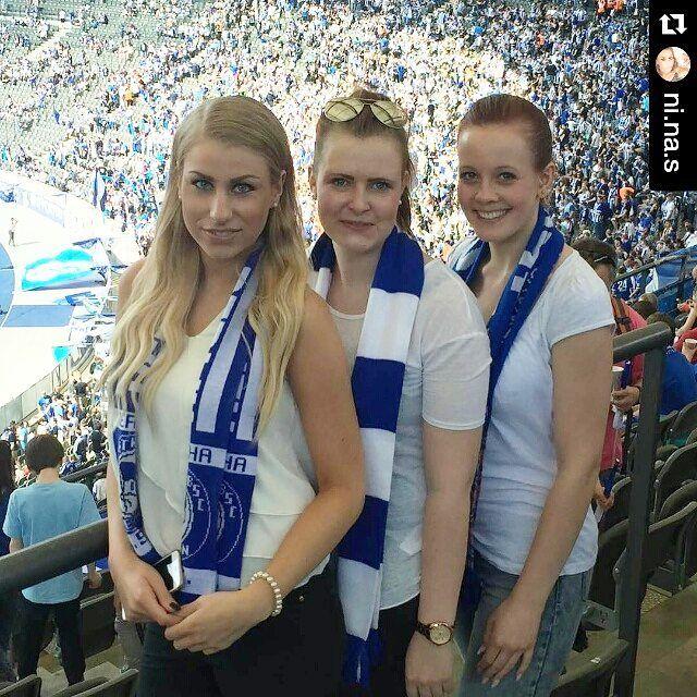 #Repost @ni.na.s  Herthaa  #hertha #herthabsc #berlin #olympiastadion #fussball #friends #goodtimes #wastutmannichtallesfürseinefreunde #love