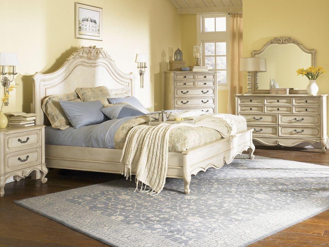 Vintage White Bedroom Furniture  Aprikot  Vintage style bedroom