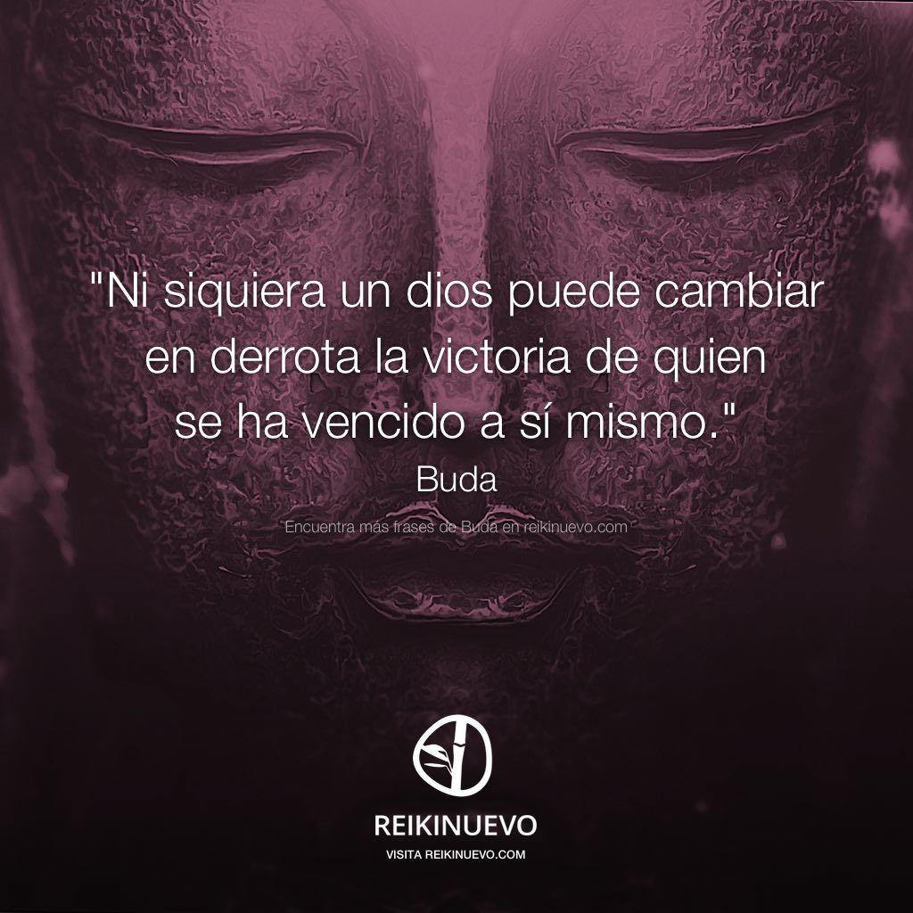 Buda Ni siquiera un dios puede cambiar en derrota la victoria de quien se ha