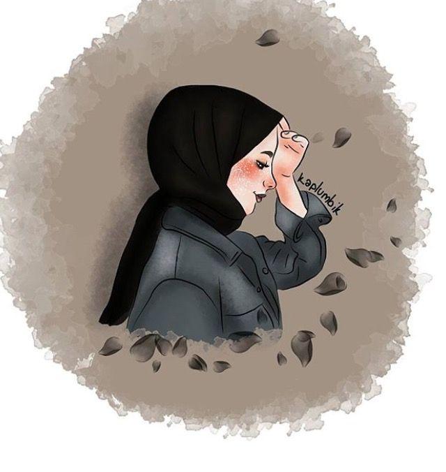 Pin Oleh Intan Nursyafiqah Di Tesettur Hijab Ilustrasi Karakter Instalasi Seni Ilustrasi
