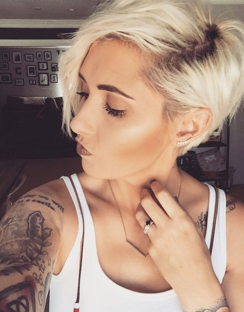 Cool short pixie blonde hairstyle ideas blonde hairstyles bob