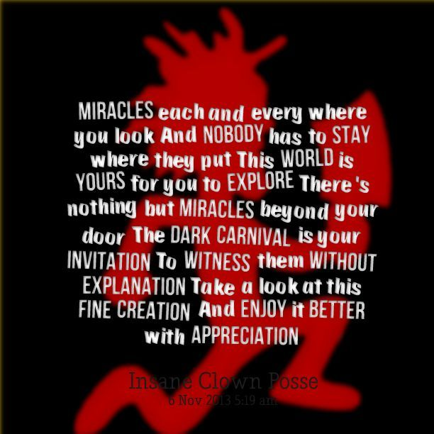 Image Result For Juggalo Quote Juggalojuggalette Insane Clown