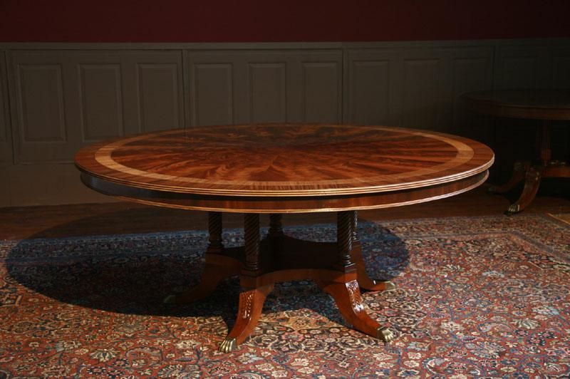 Check Out Their Website 72 Round Dining Table American Large