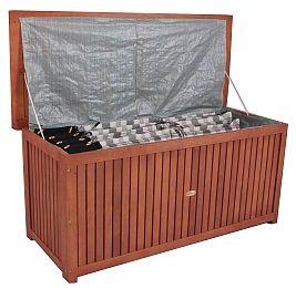 wetterfeste auflagenbox akazienholz garten pinterest. Black Bedroom Furniture Sets. Home Design Ideas