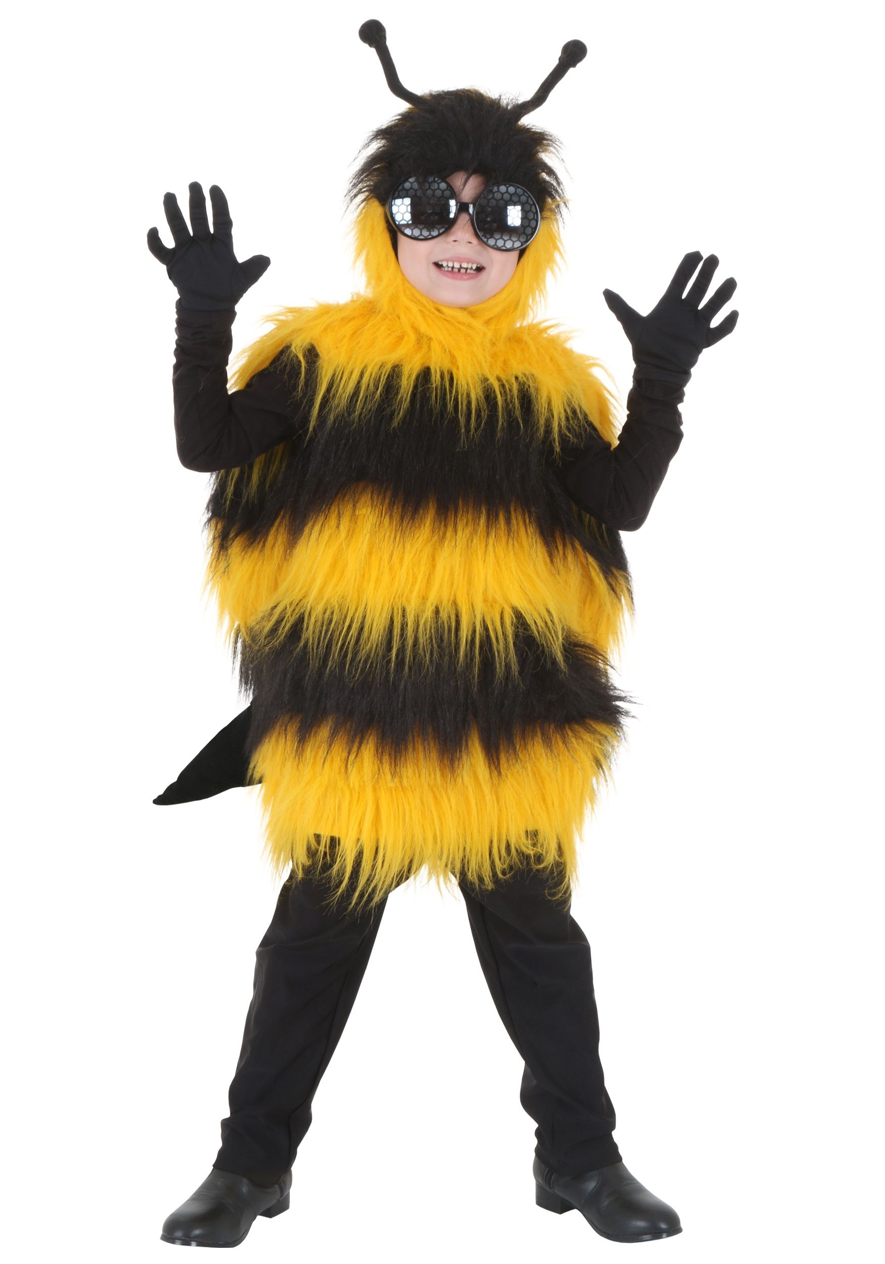 1ba7f691a6a Deluxe Kids Bumblebee Costume