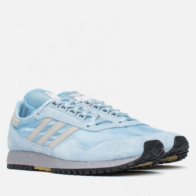 separation shoes f4cfd 0ee03 adidas Originals New York Carlos Spezial Clear Blue Clear Granite. Article   AQ4808.