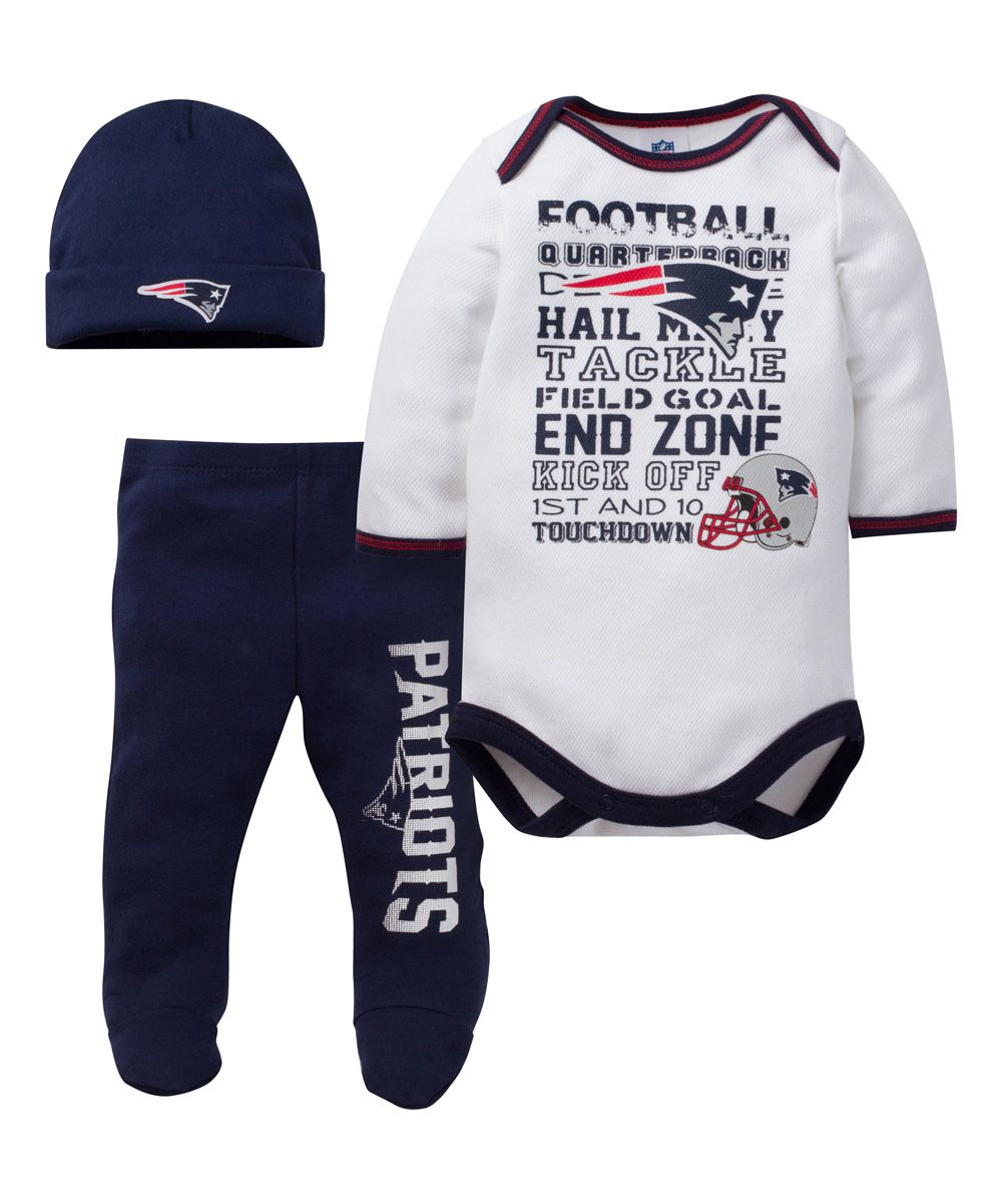 7be344e85 New England Patriots Footie Pants Set - Infant