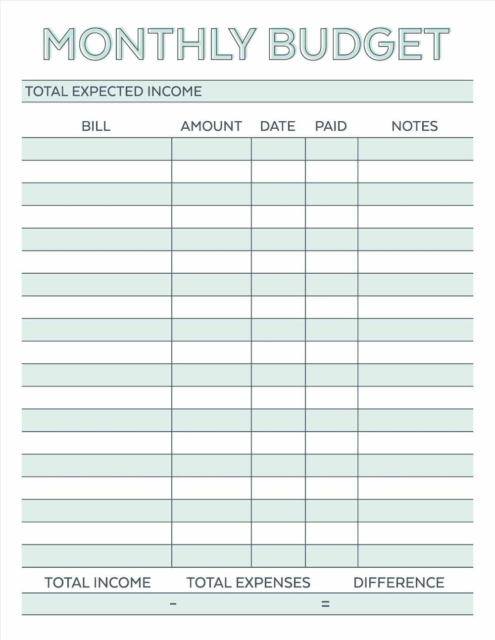 Printable Blank Hourly Income Worksheet Beauty Calendar Printable Budget Planner Printable Budget Planner Template Budget Template Printable