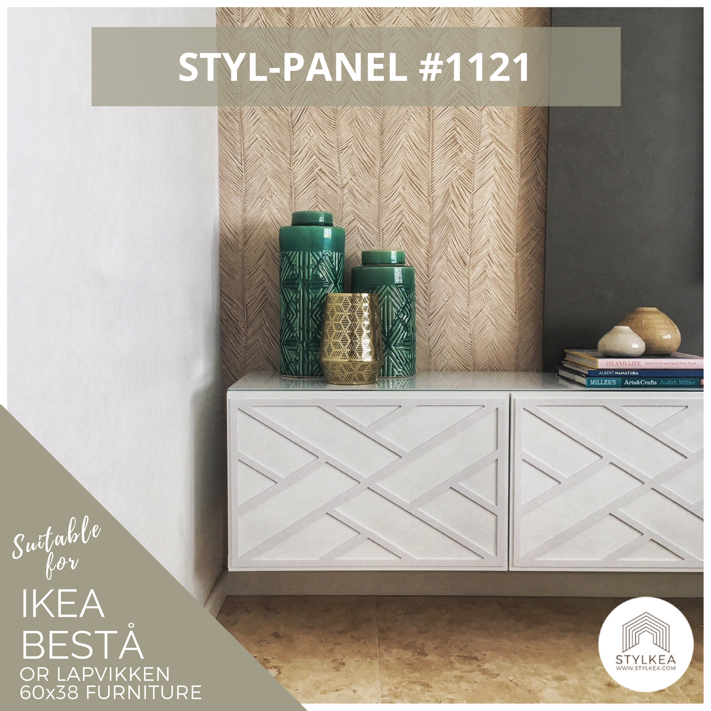 Styl Panel 1121 To Suit Ikea Besta 60x38 Furniture In 2019