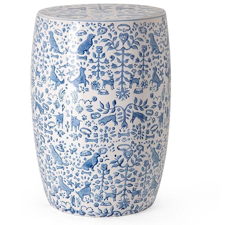 Blue And White Stool Blue White Stool Blue White Stools Blue And White Stools Blue And White Garden Stool B White Garden Stools Garden Stool Ceramic Stool