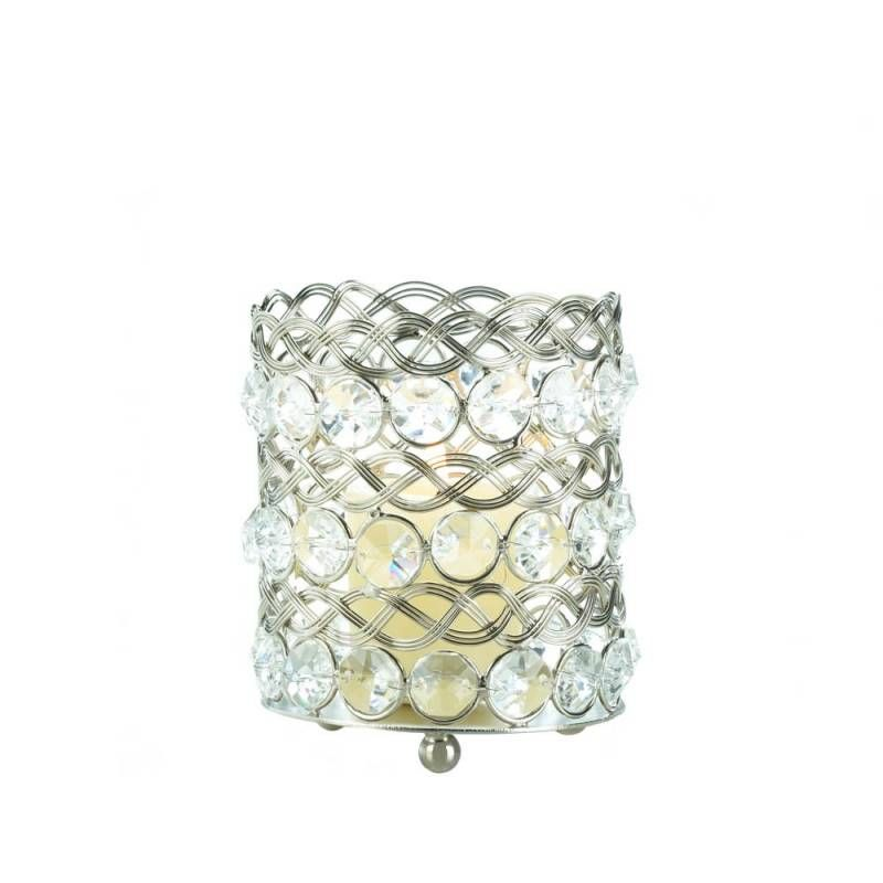 Eternity Small Glass Candle Holder