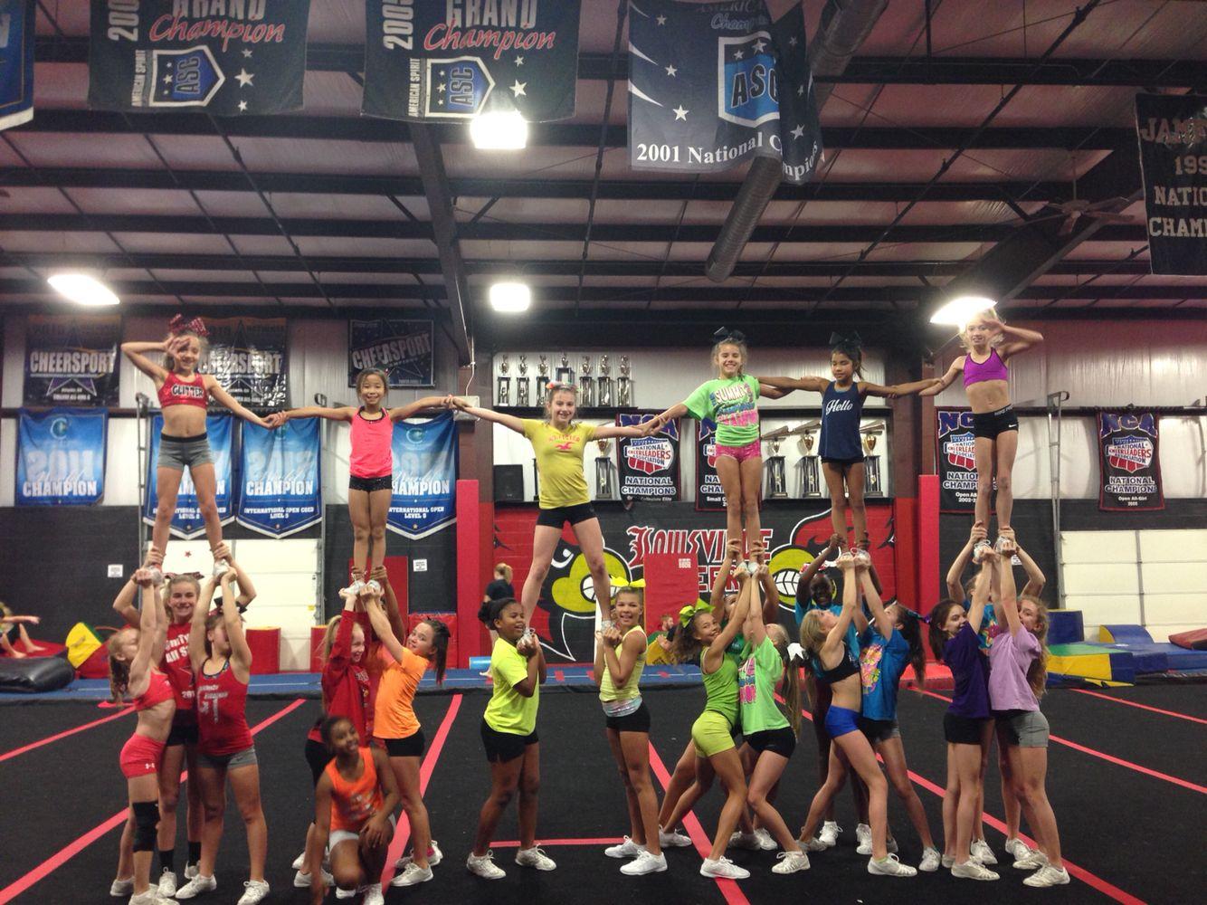 Cheer Practice Theme Taste The Rainbow Stunt Group Colors Cheer Practice Cheerleading Stunts
