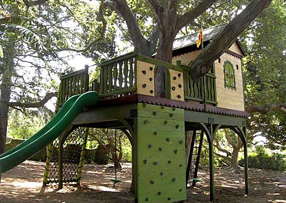 Gentil Backyard Tree House Ideas For Kids