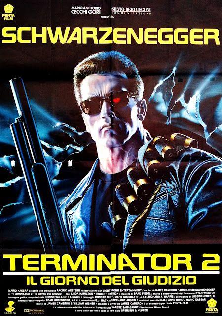 Movie Poster Art Terminator 2 Judgment Day 1991 Terminator Movie Posters Movie Poster Art