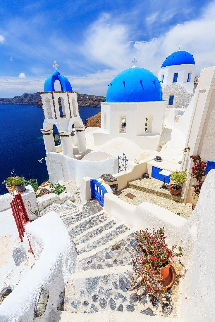 Visit The White And Blue Of Santorini Greece Travel Blue Book Best Places In Greece Places In Greece Beautiful Places To Travel