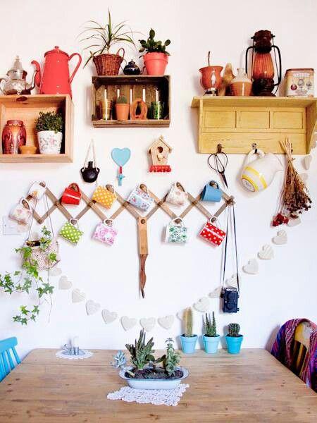 Wunderschön. Bunt, phantasievoll, kreativ. Küche einrichten, Küche ...