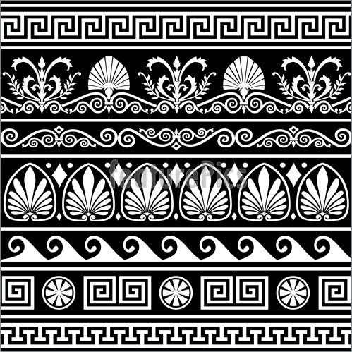 Set-Antique-Greek-Borders-Black-1558945.jpg (499×499)