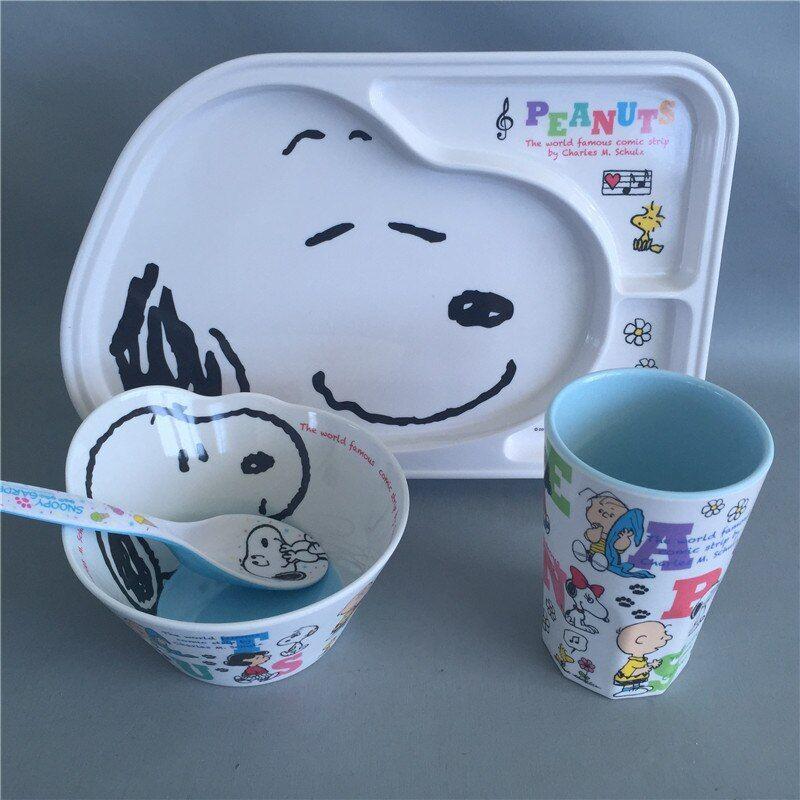 Childrens Tableware Melamine In 2020 Baby Dishes Kids Plates Set Kids Plates