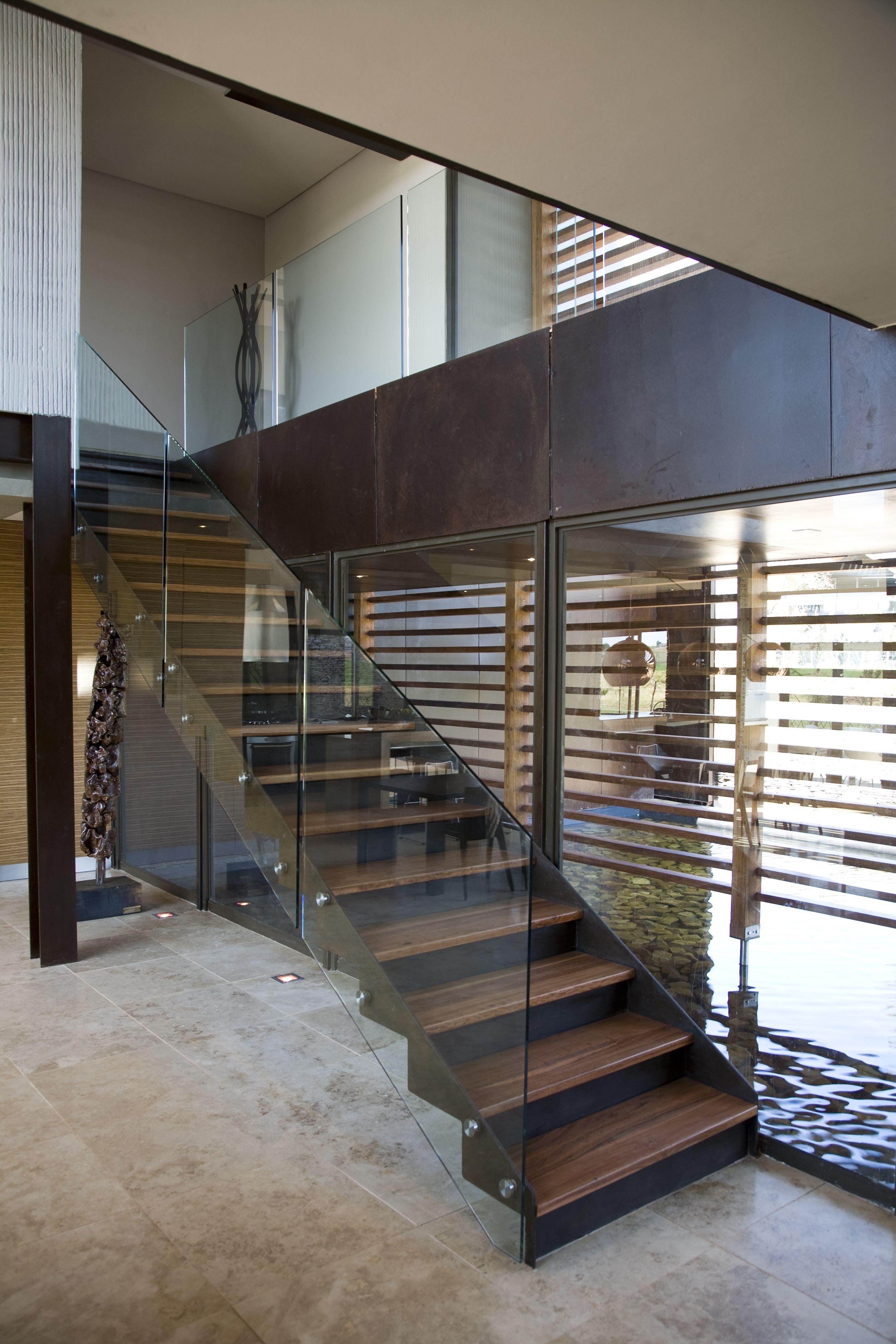 House Serengeti - Timer Staircase - Nico Van Der Meulen