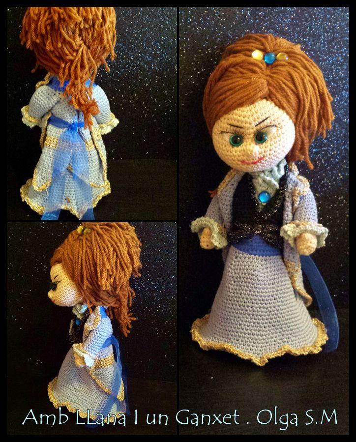 Patrón Idun, Una pequeña Princesa… | amigurumis | Pinterest | Patrón ...