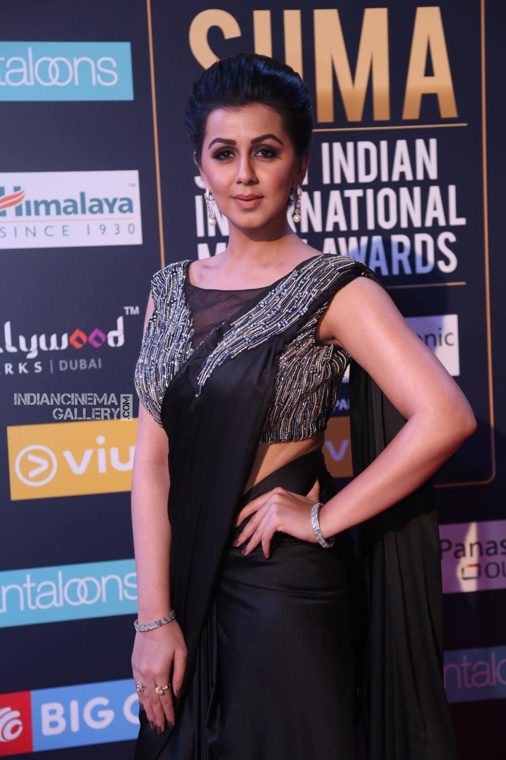 Nikki Galrani at SIIMA Awards 2018 day 2 (4) | Nikki Kalrani