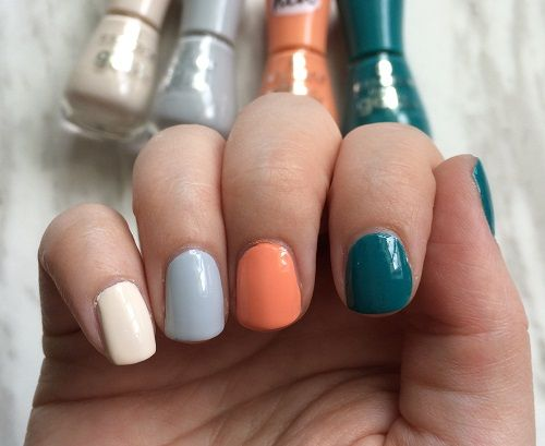 Essence The Gel Nail Polish In Dream On Grey Zone Ice Cream Party And