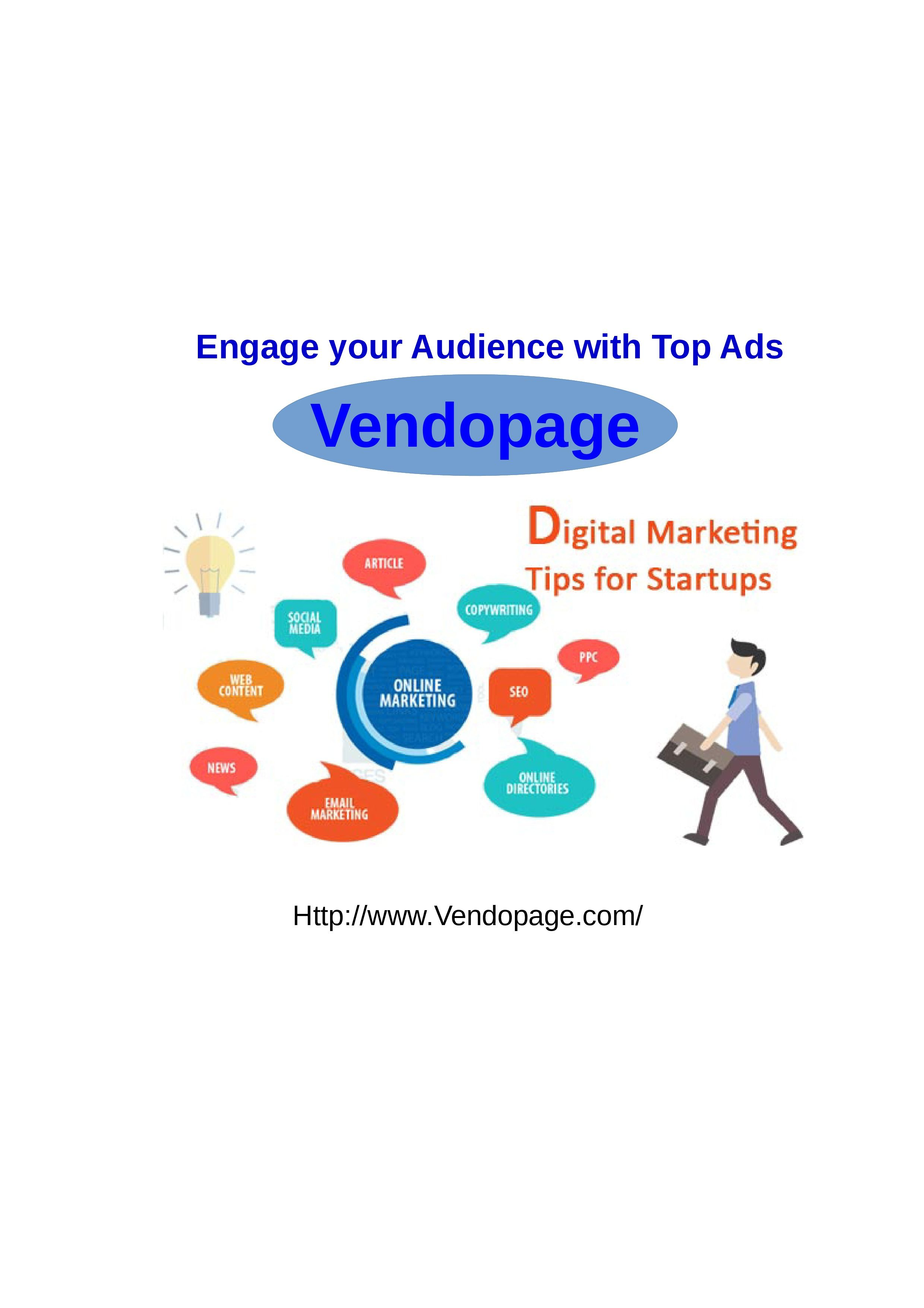 Vendopage is a classifieds site. Our point is to empower