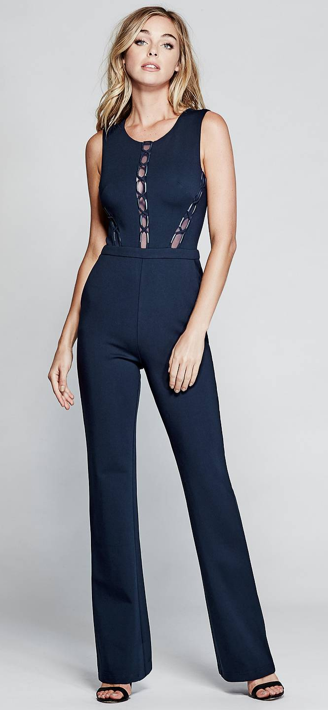 3264444d247b The Brigetta Lace-Up Jumpsuit