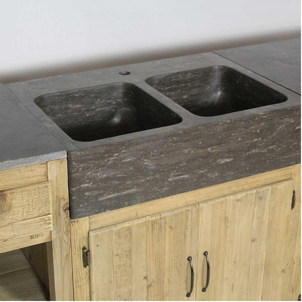 cuisine o trouver des meubles ind pendants en bois brut pinterest. Black Bedroom Furniture Sets. Home Design Ideas