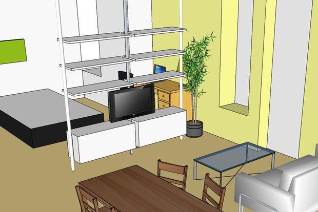 Ikea Hack - Pivot TV Mount | Home | Pinterest | Wall mount, TVs and ...