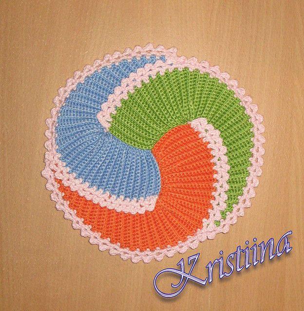 crochet potholder pattern on ravelry..the Picasso potholder | For ...