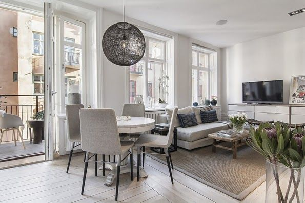 przytulne mieszkanie   cozy flat Family Space- Living rooms