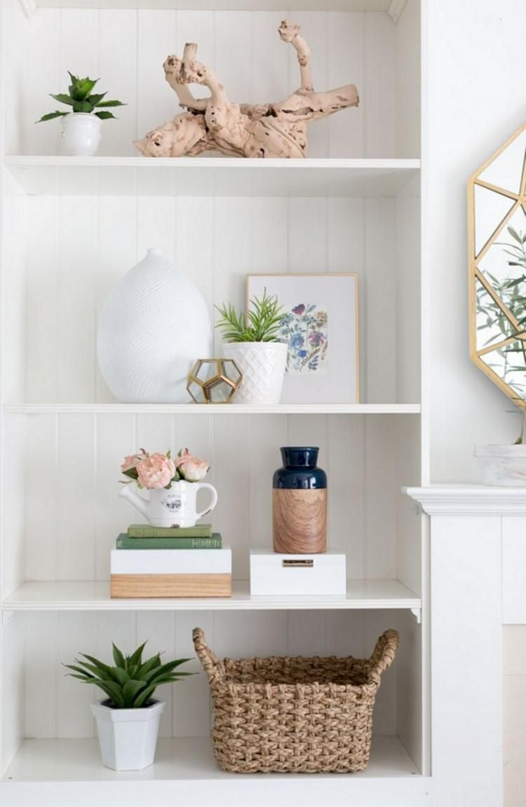 25 Best Office Shelf Decor Ideas