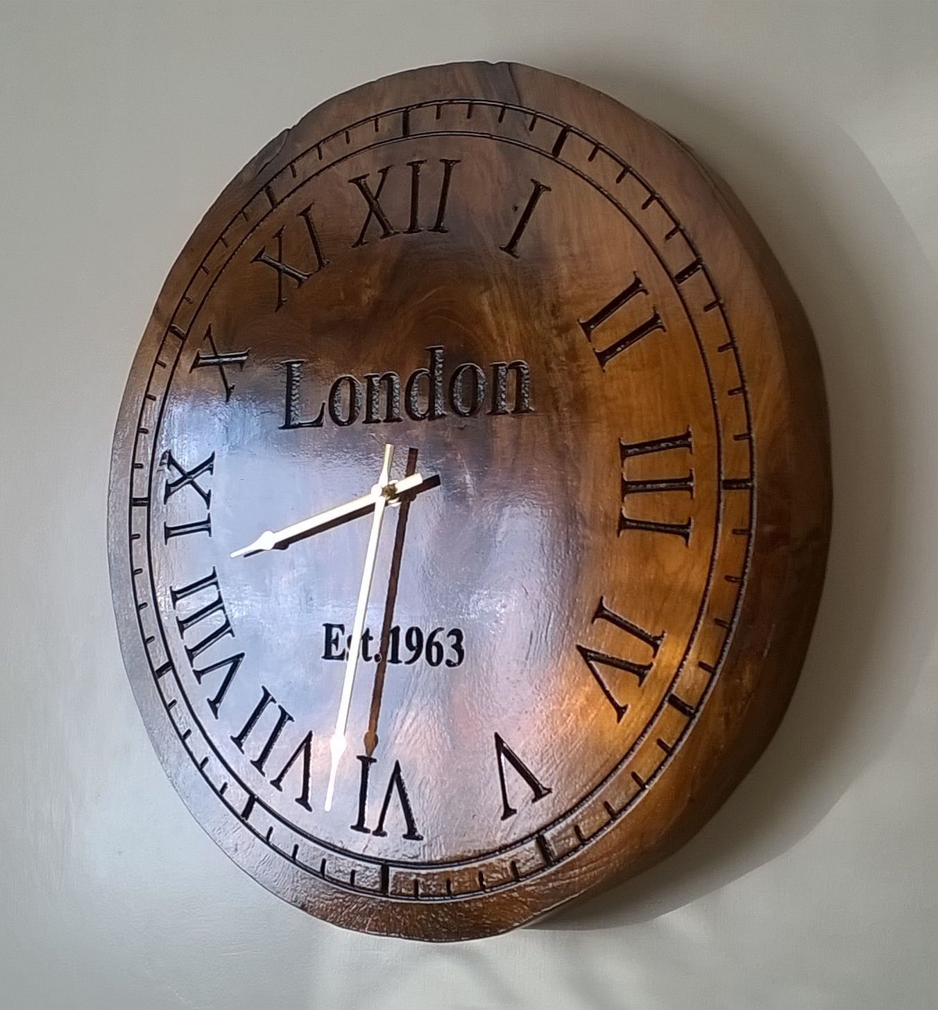 This is the clock I made on