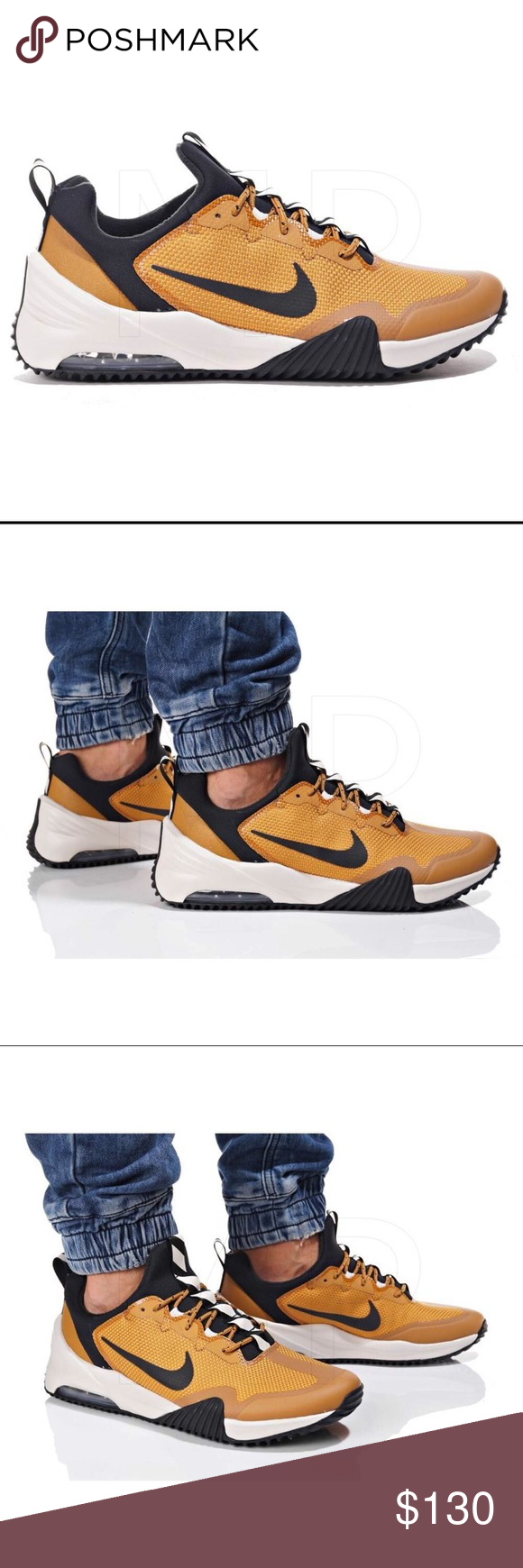 NEW NIKE AIR MAX GRIGORA   BRAND NEW WITH NO BOX     BEST PRICE ONLINE    -AUTHENTIC NIKE AIR MAX GRIGORA -WHEAT BLACK -SIZE 10 Nike Shoes Sneakers 32f251ece