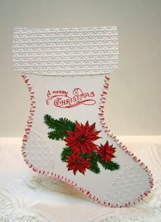 cards with holiday stockings - Google Search