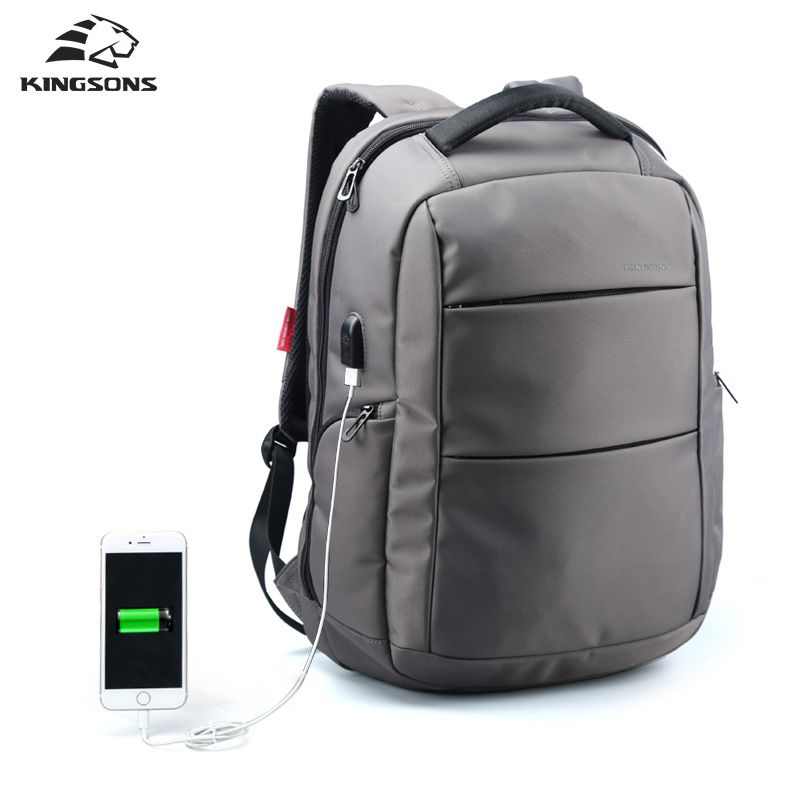 adce23b751af Charging USB Function Laptop Backpack in 2019 | Luggage & Bags ...