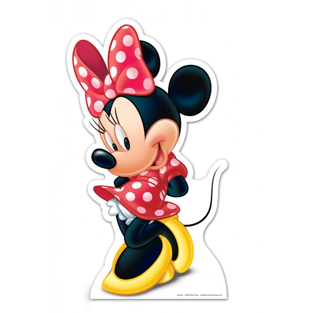 Minnie Mouse Cardboard Cutout Cartoon Wallpapers HD