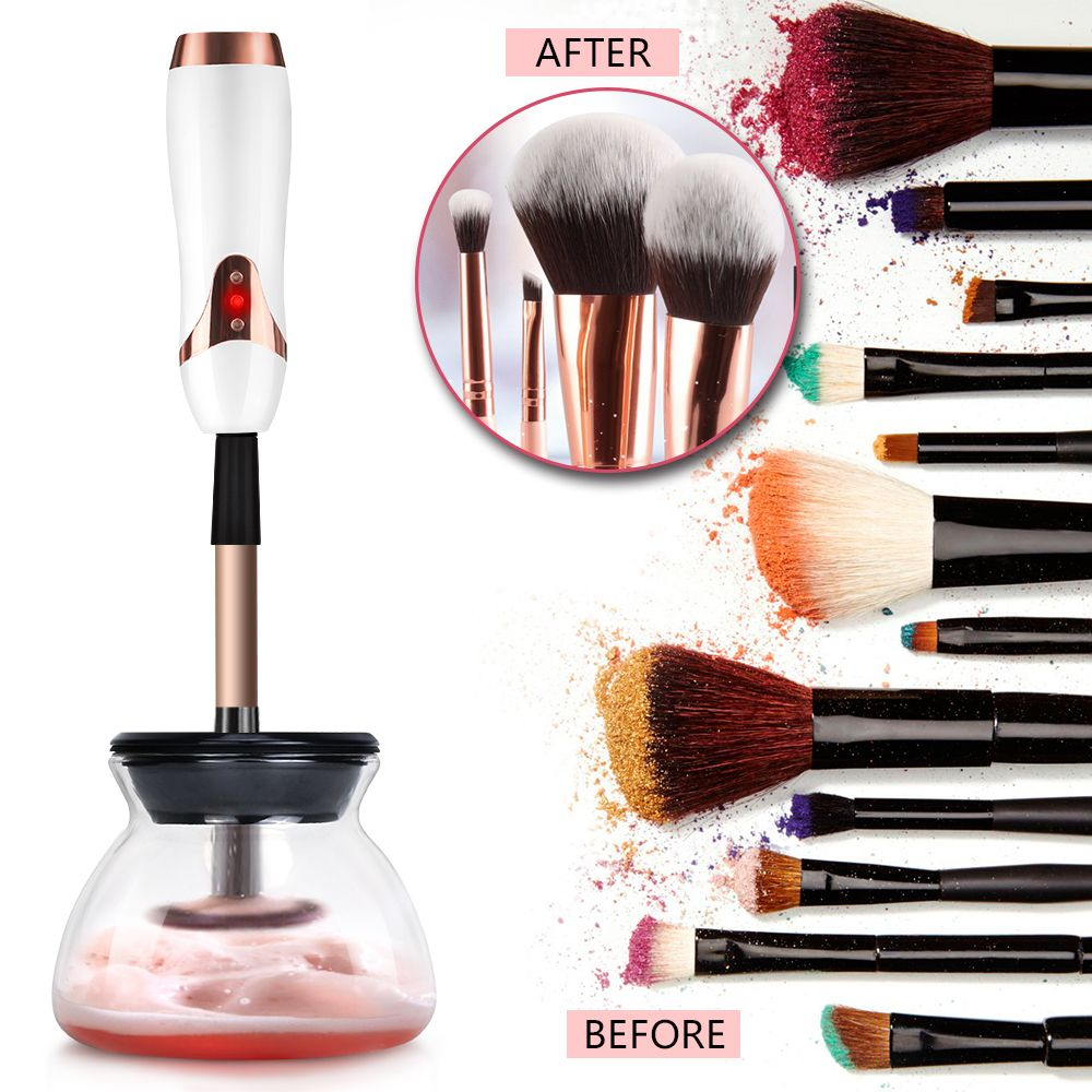 Photo of Alibaba.com / Private Label Makeup Brushes Cleaner and Dryer USB rechargeable Amazon Top seller Electric Cosmetic Brushes Cleaning machine