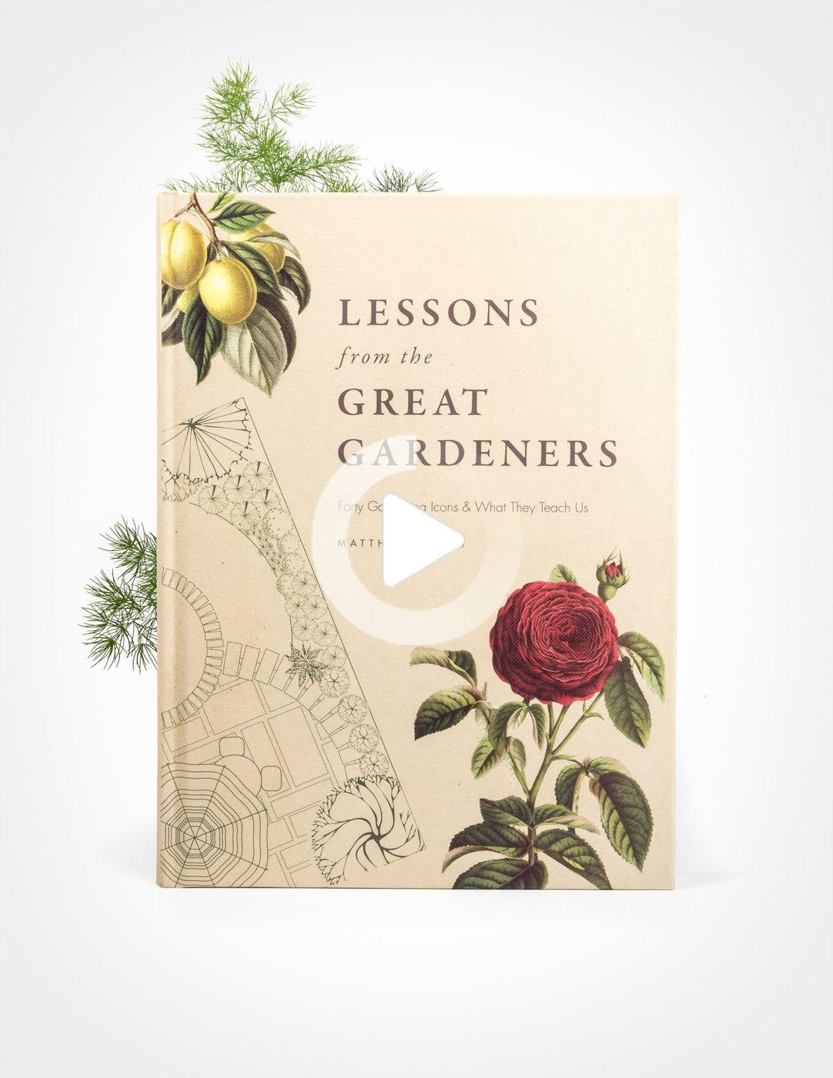 Lessons from the Great Gardeners in 2020 Botany books