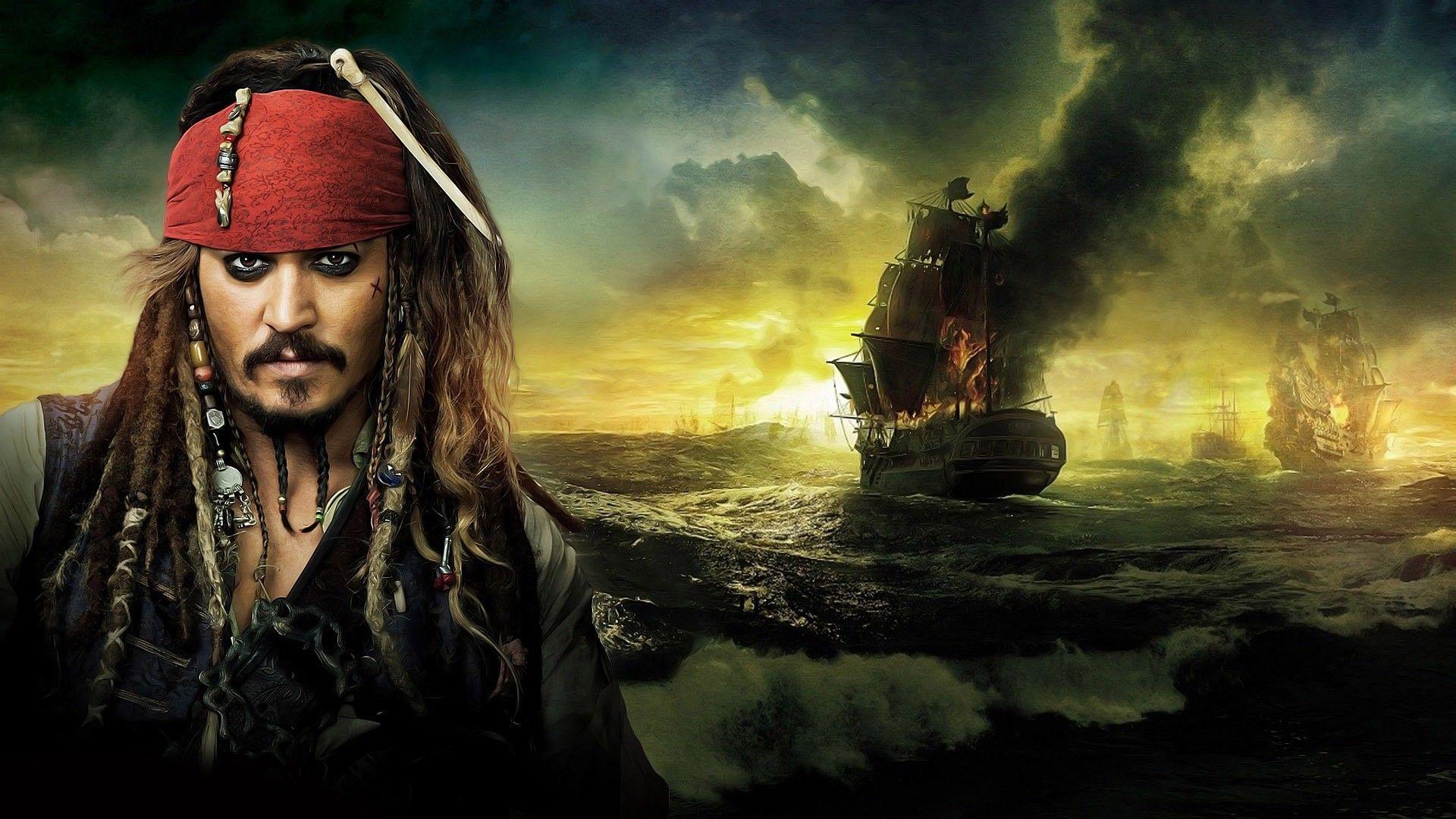 Pirates Of The Caribbean Dead Men Tell No Tales Desktop Wallpaper