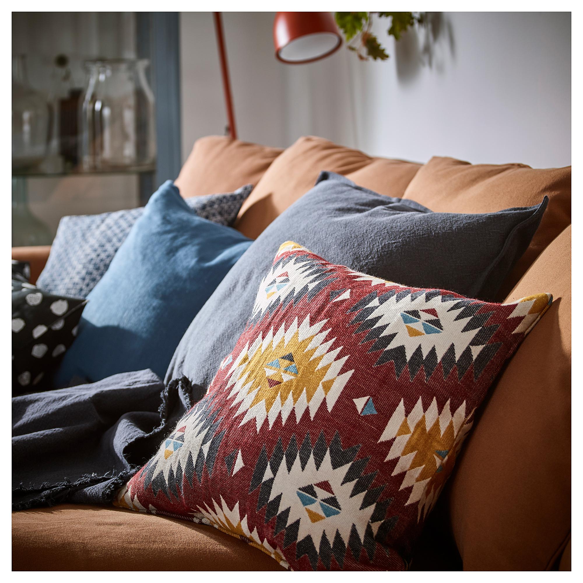 Cuscino Per Pc Ikea.Ikea Fransine Cushion Cover Multicolor Decor Pillows