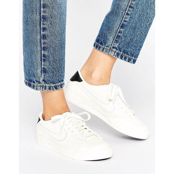 Shop Nike All Court 2 Trainers In Textured Cream at ASOS.