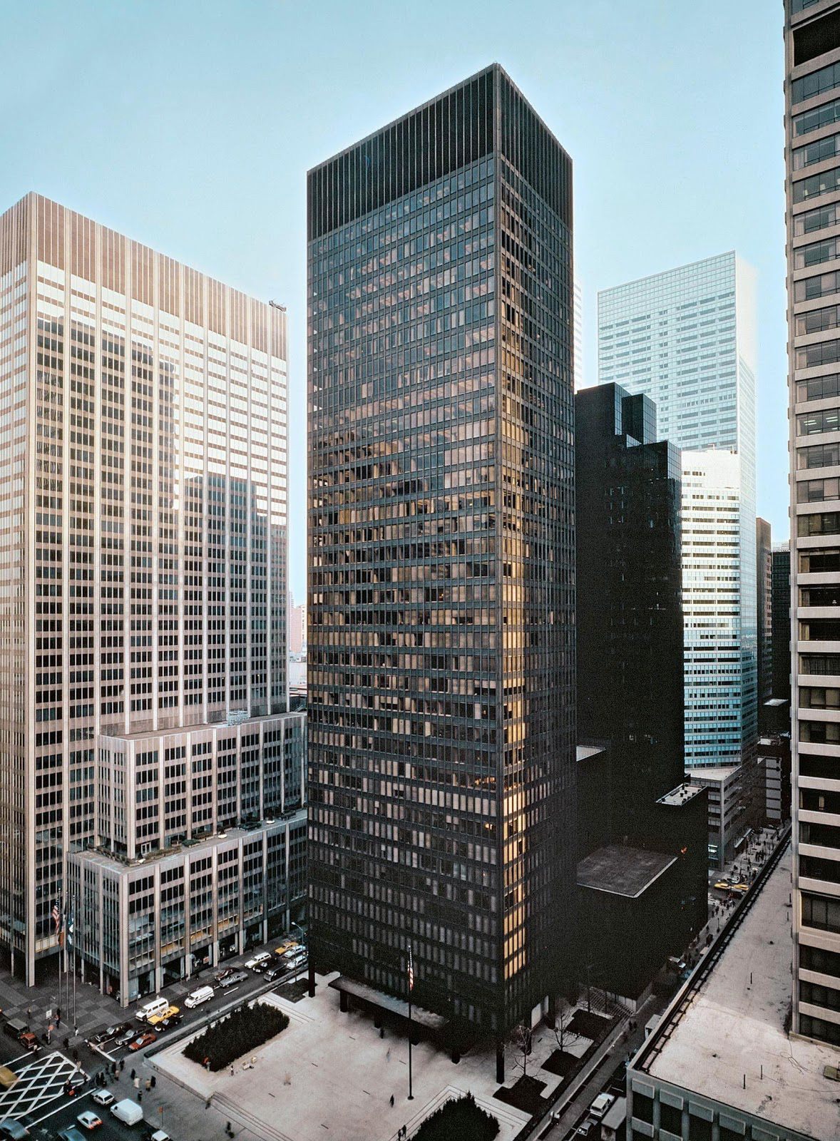 Seagram Building Museums And Architecture Seagram Building