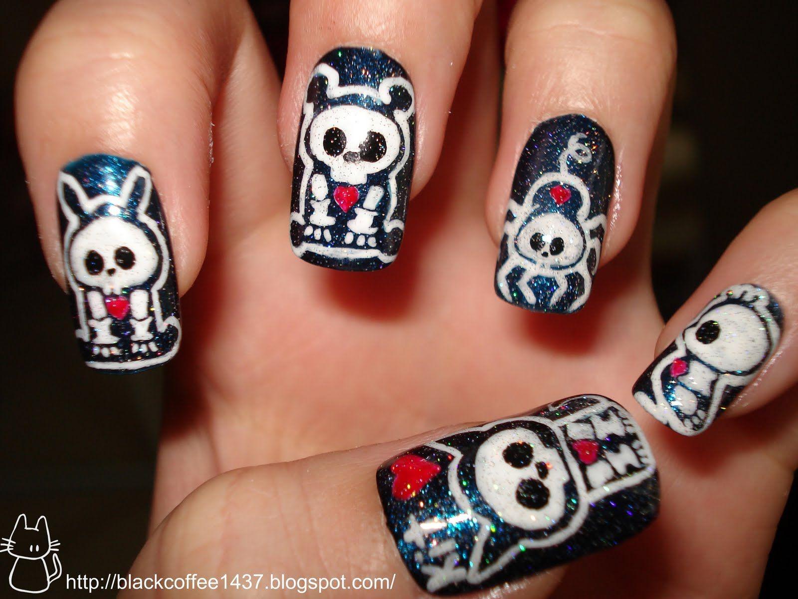 skelanimals nails