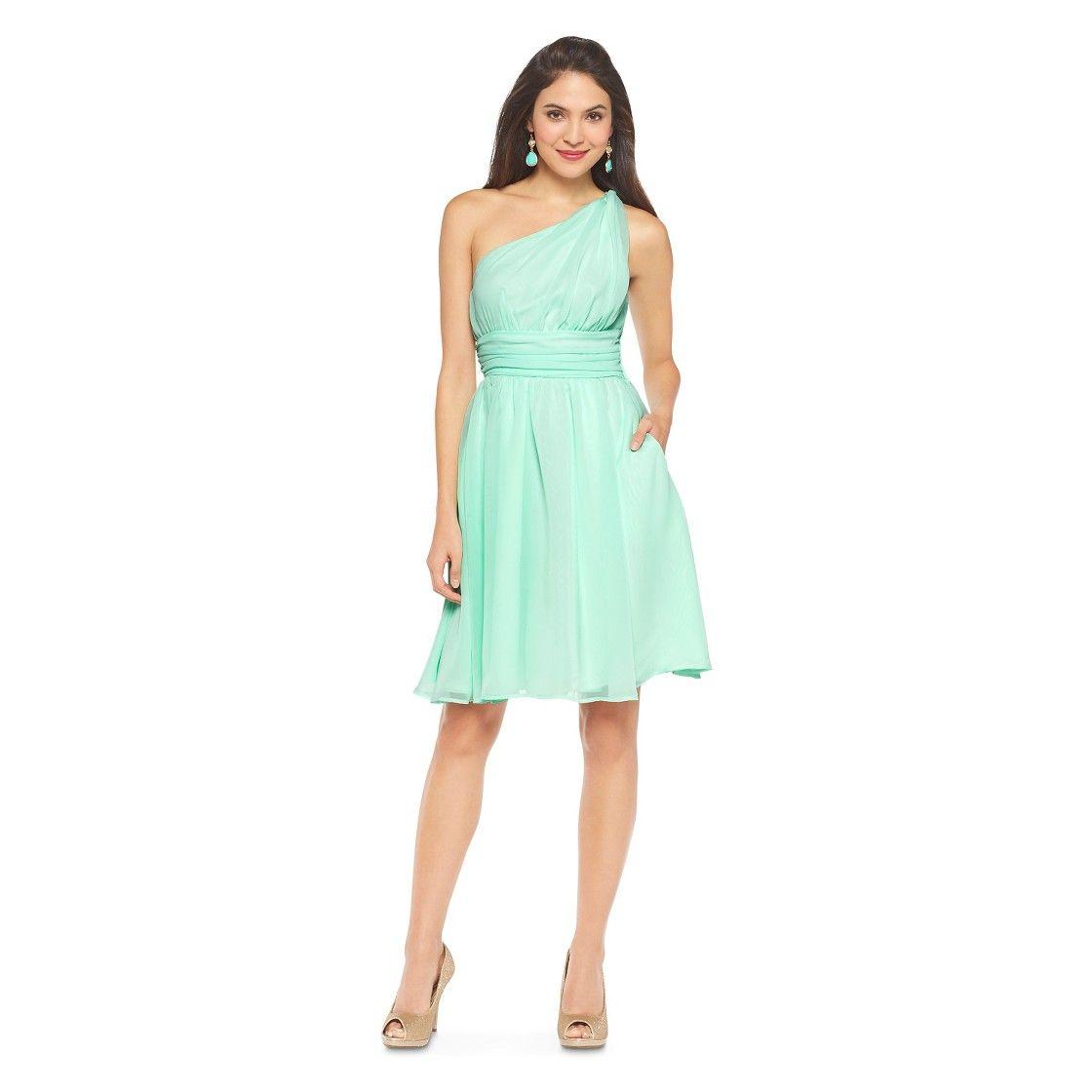 Womens one shoulder chiffon bridesmaid dress fashion colors womens one shoulder chiffon bridesmaid dress fashion colors tevolio ombrellifo Gallery