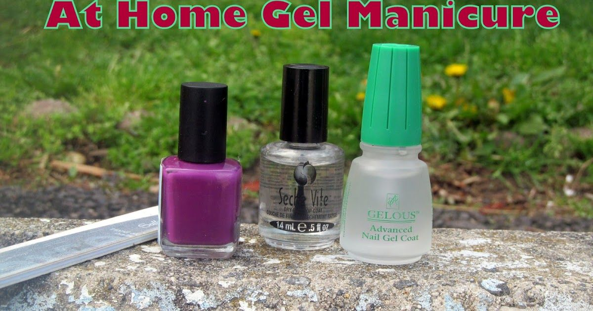 Want to see how to apply \'Gelous\' Nail Gel to achieve a long wearing ...