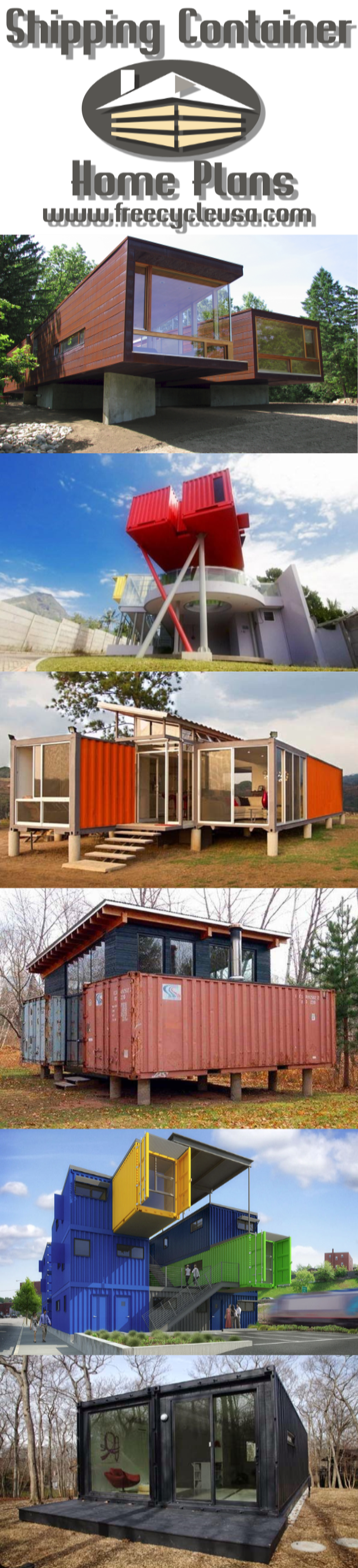 Shipping Container Home Great Design and Construction Ideas On How To Build A Shipping Container House And Live In!